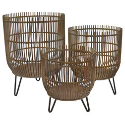 Tropical Baskets by Three Hands Corp