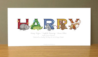 Personalised Baby Name Gifts