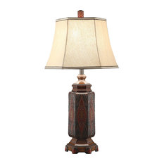 Shop southwestern table lamps best deals free shipping on crestview collection regervation table lamp table lamps aloadofball Choice Image