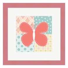 Baby Quilt III by Beth Grove Framed Art, 13.5x13.5