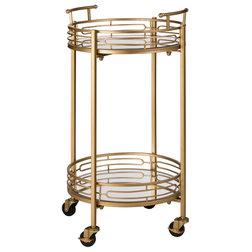 Contemporary Bar Carts by Glitzhome