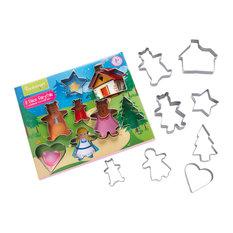 Cooksmart Kids 8-Piece Fairy Tale Cookie Cutter Set