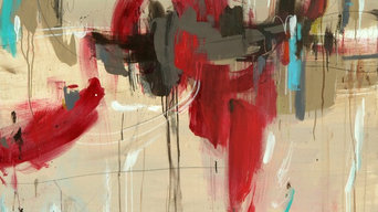 Original Abstract Contemporary Large Scale Painting