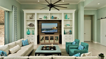 entertainment center in Isles of Collier Preserve