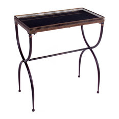 Metal Patio Side Table Houzz