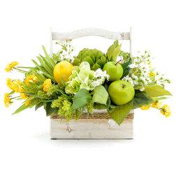 Farmhouse Artificial Flower Arrangements by Creative Displays & Designs, Inc.