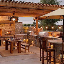 Outdoor Kitchen's and Pizza Ovens