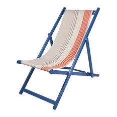 Java UV-Resistant Deckchair Sling, Orange and Yellow