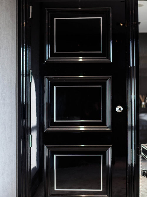 Holland Park - High Gloss with Metal inlays - Interior Doors & 34 Holland Park - High Gloss with Metal inlays Pezcame.Com
