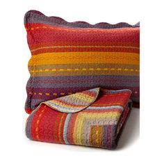 melange home sedona cotton quilt set full queen quilts and quilt sets - Southwest Bedding