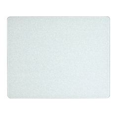 """Corelle Winter Frost White Counter Saver Tempered Glass Cutting Board, 15""""x12"""""""