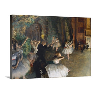 Degas Ballet Dancer With Arms Crossed Canvas Art Contemporary Prints And Posters By Trademark Global