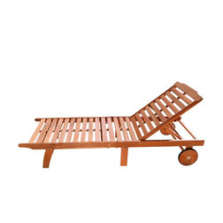 Traditional Outdoor Chaise Lounges by Vifah