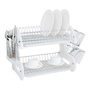 Lynk Dish Drying Tray Dish Drainer Rack White