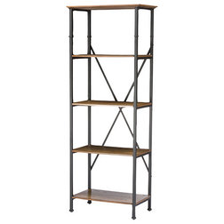 Industrial Bookcases by HedgeApple