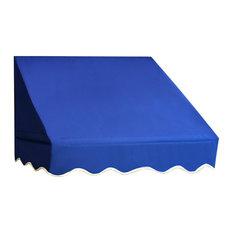 Window Awning Door Canopy, Blue, 8'x2'
