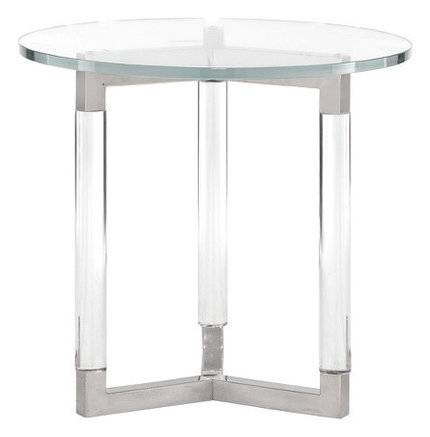 MA368-126CH Soho Luxe Round End Table