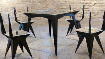 Table & Chaises 1m