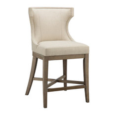 Madison Park Carson Counter Stool With Swivel Seat