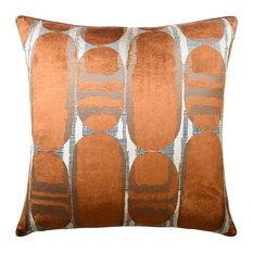 Scarab Rust Decorative Pillow
