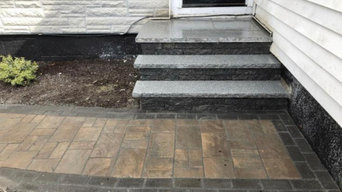 Masonry steps and walkways Boston contractor