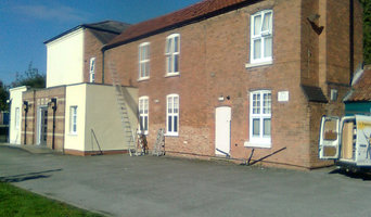 Exterior repainting of The Southwell Baptist Church