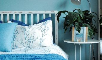 Sea View - Beach Blue Bedroom
