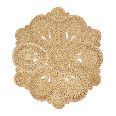 Natural Jute Natural Indoor Round Rug, 4'