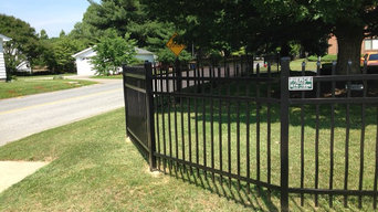 Fence installations by Pierce Fence