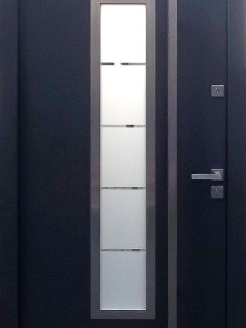 Modern Wood In Stock Exterior Doors Size W 42 X H 84 Prehung