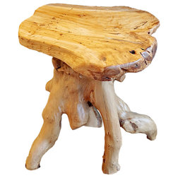 Rustic Side Tables And End Tables by Welland Industries LLC