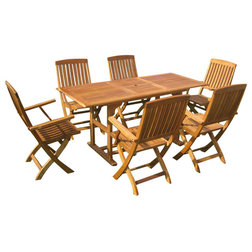 Beach Style Outdoor Dining Sets by International Caravan
