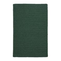 Colonial Mills, Inc - 7'x9' (Large 7x9) Rug, Myrtle Green Indoor/Outdoor Carpet - Outdoor Rugs