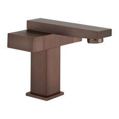 Upc Faucet With Drain-Brown Bronze