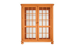 Coastal Living Retreat Newport Storage Cabinet, Spanish Orange