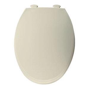 Bemis 1100ec Elongated Plastic Toilet Seat With Easy Clean