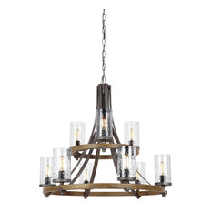 Feiss 9-Light Chandelier