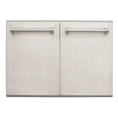 """AEI Corporation - Stainless Steel Professional Masonry Doors, 30"""" - Grill Tools & Accessories"""