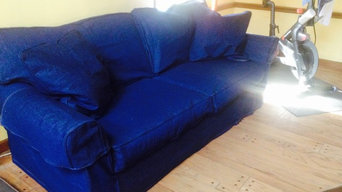 Denim Slipcovers for love seat and sofa