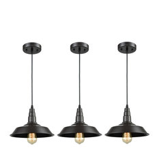 3 Light Kitchen Island Pendant Lighting Oil Rubbed Bronze Finish