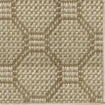 Fibreworks - Octet Wool and Sisal Area Rug, Palladium, 5'x8' - Octet by Fibreworks is the elegance factor multiplied.  Sisal and wool woven into repeated octagons form this luxurious rug.  Octet is a natural choice for traditional settings.  Use in formal dining and living rooms or as a showpiece in entryways.