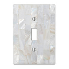 amertac pearl capiz composite 1toggle wall plate switch plates and outlet covers