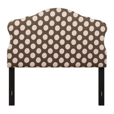 Home Fare Dana Full Upholstered HB Pink