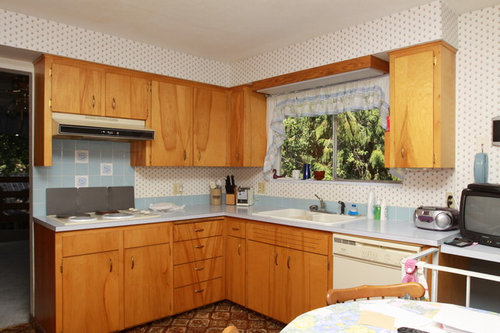 How To Update 60 S Flat Cabinets With Out Replacing