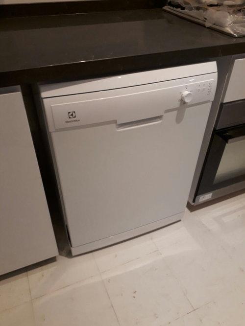 Freestanding Dishwasher In Kitchen Cabinet, Dishwasher Kitchen Cabinet