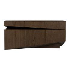 CFC Furniture - Chandler Sideboard Oak Veneer Plywood - FF209