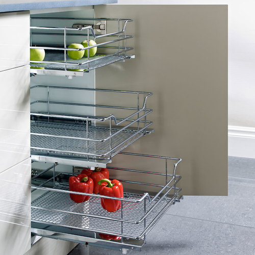 Hafele Pull U2013 Out Baskets   Pantry And Cabinet Organizers
