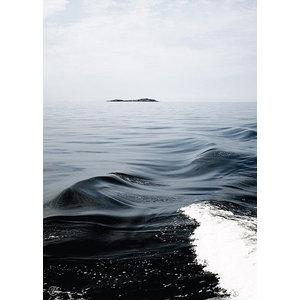 """Waves"" Print by Johanna Lehtinen, 50x70 cm"