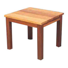 Red Cedar End Table   Outdoor Side Tables