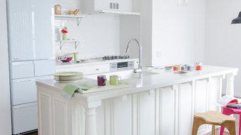 真白なキッチン〜西洋スタイル